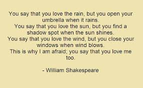 Shakespeare Quotes Love - Quotes About Love