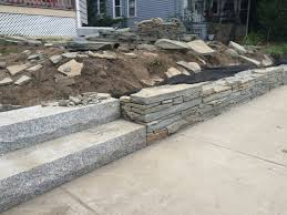 stone patio installation: stone wall installation somerville ma img  stone wall installation somerville ma