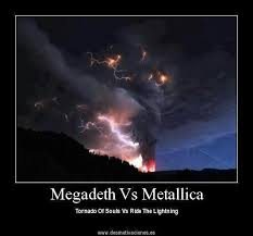 Megadeth vs Metallica #meme | Megadeth | Pinterest | Megadeth ... via Relatably.com