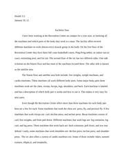 px essay  healthfebruary fitness evaluation the fitness