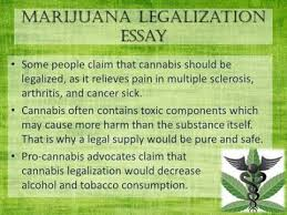 marijuana legalization essay   youtube marijuana legalization essay