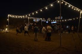 image of led string lights outdoor backyard string lighting ideas