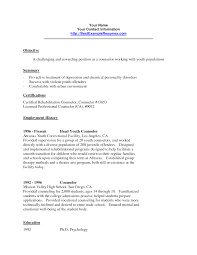 counselor resume doc tk counselor resume 23 04 2017