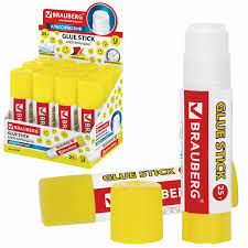 "Купить <b>Клей</b>-карандаш <b>BRAUBERG</b> ""Смайлики"", 25 г, 227970 ..."