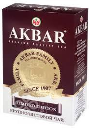 Купить <b>Чай черный Akbar Limited</b> Edition 200г с доставкой на дом ...