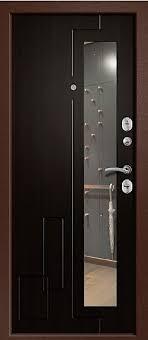 Купите входную дверь Ника-110 с <b>зеркалом</b> (114-Z)| входные ...