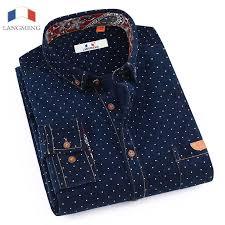 <b>Langmeng</b> 2017 Super warm Flannel shirts Male Slim Long Sleeve ...