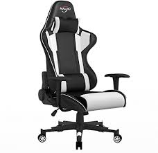 Polar Aurora <b>Gaming Chair</b> Racing Style High-Back PU <b>Leather Office</b>