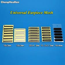 <b>ChengHaoRan 1pcs Adhesive Ear</b> Speaker Earpiece Anti Dust ...