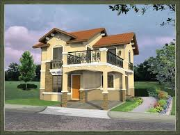 Home Balcony Design   Rumah Mini sSpanish Dream Home Designs of Avanti Home Builders Philippines