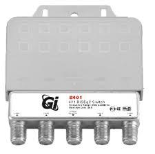 DiSEqC-<b>переключатель Galaxy Innovations</b> GI-B401 — купить по ...