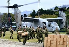 「オスプレイ 熊本 地震」の画像検索結果