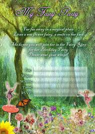 kids party invitations fairy party invitation printables fairy party invitation printables