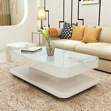 <b>White Gloss</b> Mdf in <b>Coffee Tables</b> for sale | eBay