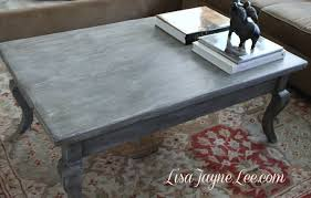 grey wood stain coffee table makeover chalk paint coffee table