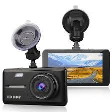 "4"" Dual <b>Lens Car</b> Camera DVR Video <b>Dash</b> Cam Audio Recorder ..."