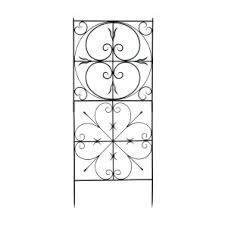 achla designs aldrich garden 625 ft iron trellis achla designs wrought iron