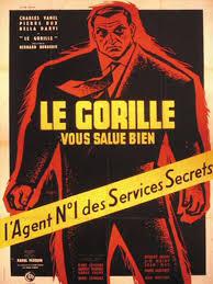 affiche film Le Gorille vous salue bien