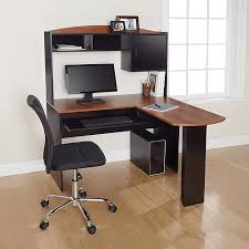 good l shaped office desk with hutch for home th19 awesome shaped office