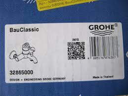Обзор на <b>Смеситель для ванны GROHE</b> BauClassic (32865000)