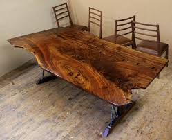 dining table woodworkers: a claro walnut dining table for sale