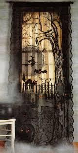 love halloween window decor: halloween decor curtains windows follow board https wwwpinterestcom
