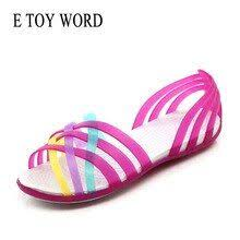 Good Chance of <b>E TOY WORD</b> jelly shoes 2019 New <b>women's</b> ...