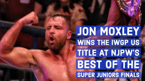 Jon Moxley Wins The IWGP US Title At NJPW