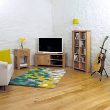 aston solid oak corner television cabinet tv unit baumhaus space shape aston solid oak wall mirror