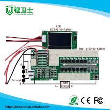 China <b>Hot Sale 2019</b> Design 4s <b>30A</b> BMS with LCD Display for E ...