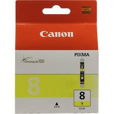 Оригинальный <b>картридж Canon CLI</b>-8Y (желтый) Желтый (Yellow ...
