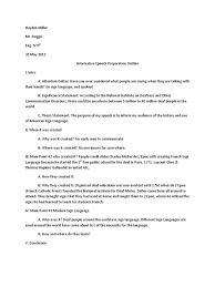 asl informative essay