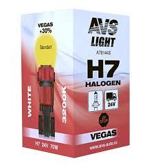 Галогенная <b>лампа AVS Vegas</b> H7 24V 70W (A78144S) 1 шт ...