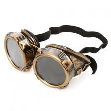 <b>Win</b> a Pair of Brass-Colored <b>Steampunk Goggles</b> - $59.95 value ...