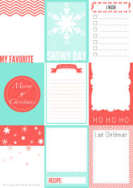 printable christmas journaling cards for your secret santa courtesy of onevelvetmorning wordpress com