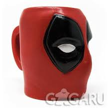 Официальная <b>3D кружка Deadpool</b> (Head) купить в интернет ...