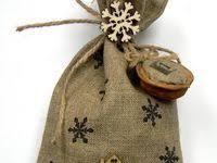 Мешки для подарков: лучшие изображения (267) | Подарки ...