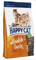 <b>Сухой корм</b> для кошек <b>Happy</b> Cat Атлантический лосось, 10 кг ...