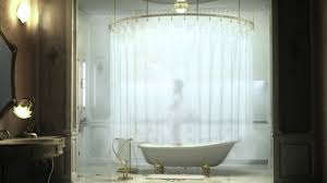 bathroom shower rods giant circular rod idea for shower curtain ceiling showerhead white ba