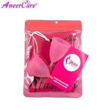 1Set Medical Grade <b>Silicone</b> Menstrual Cup <b>Copas Menstruales</b> ...