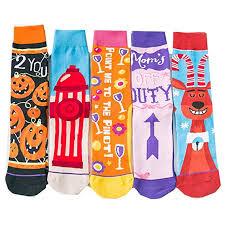 Fascigirl 5 Pairs Halloween Socks Women Socks <b>Fashion</b> ...