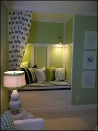 alcove bench seat with curtain lighting by starmekitten alcove lighting ideas