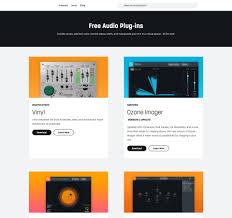 <b>Free</b> Audio Plug-ins