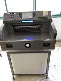 <b>Front</b> China Professional Manufacturer E4608t Paper Cutting Machine