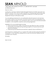 leading sales cover letter examples resources myperfectcoverletter perfect cover letter examples