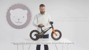 Детский беговел Lionelo Bart <b>Air</b> - <b>инструкция по сборке</b> - YouTube