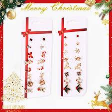 Buy AKDSteel 8 Pairs Cute <b>Cartoon Christmas Snowman</b> Cane ...