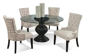 dining table set chairs glass