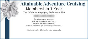 membership gift certificates for the holidays