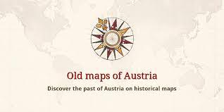 Old maps of Austria